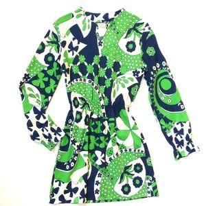 🦋 70s Butterfly Dress